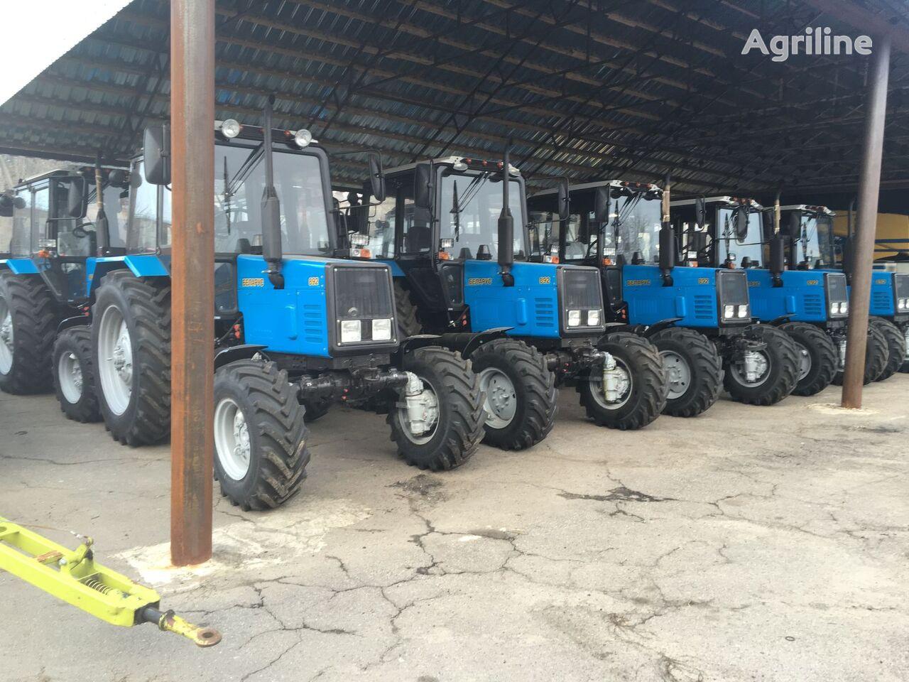 new MTZ 892 Belarus wheel tractor