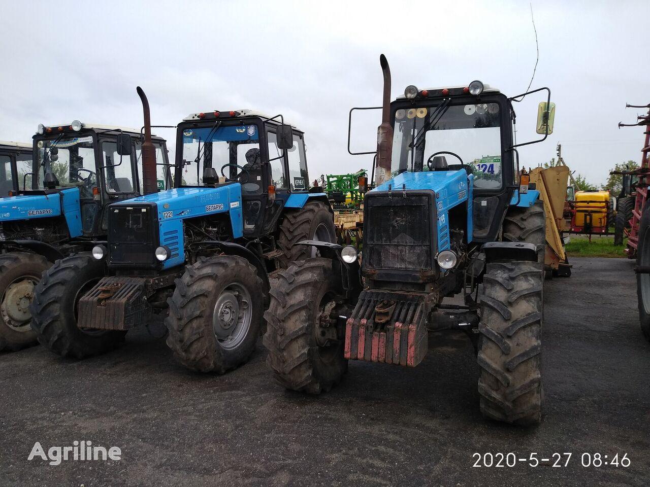 MTZ Belarus 1221  wheel tractor