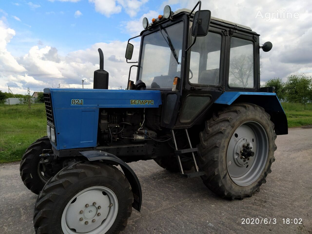 MTZ MTZ-82 wheel tractor
