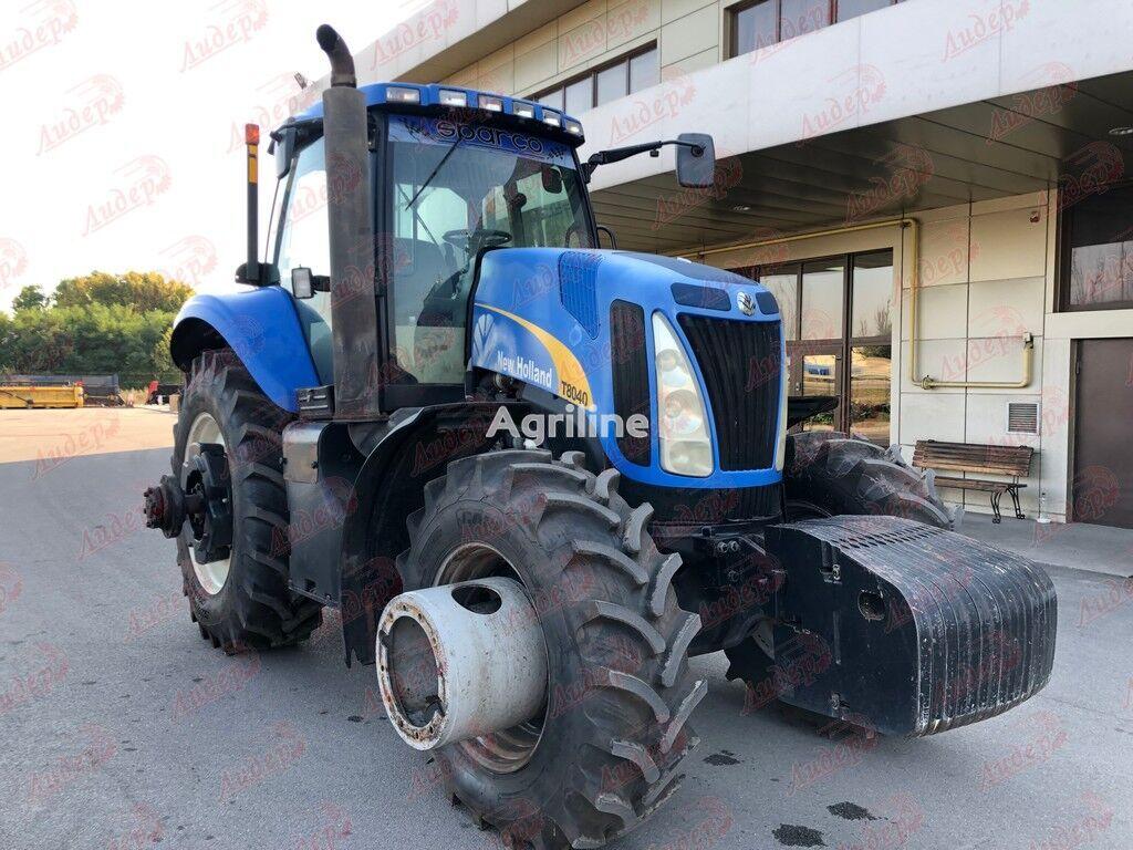 NEW HOLLAND wheel tractor