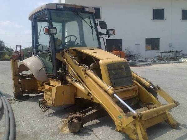 NEW HOLLAND NH95 para peças wheel tractor for parts