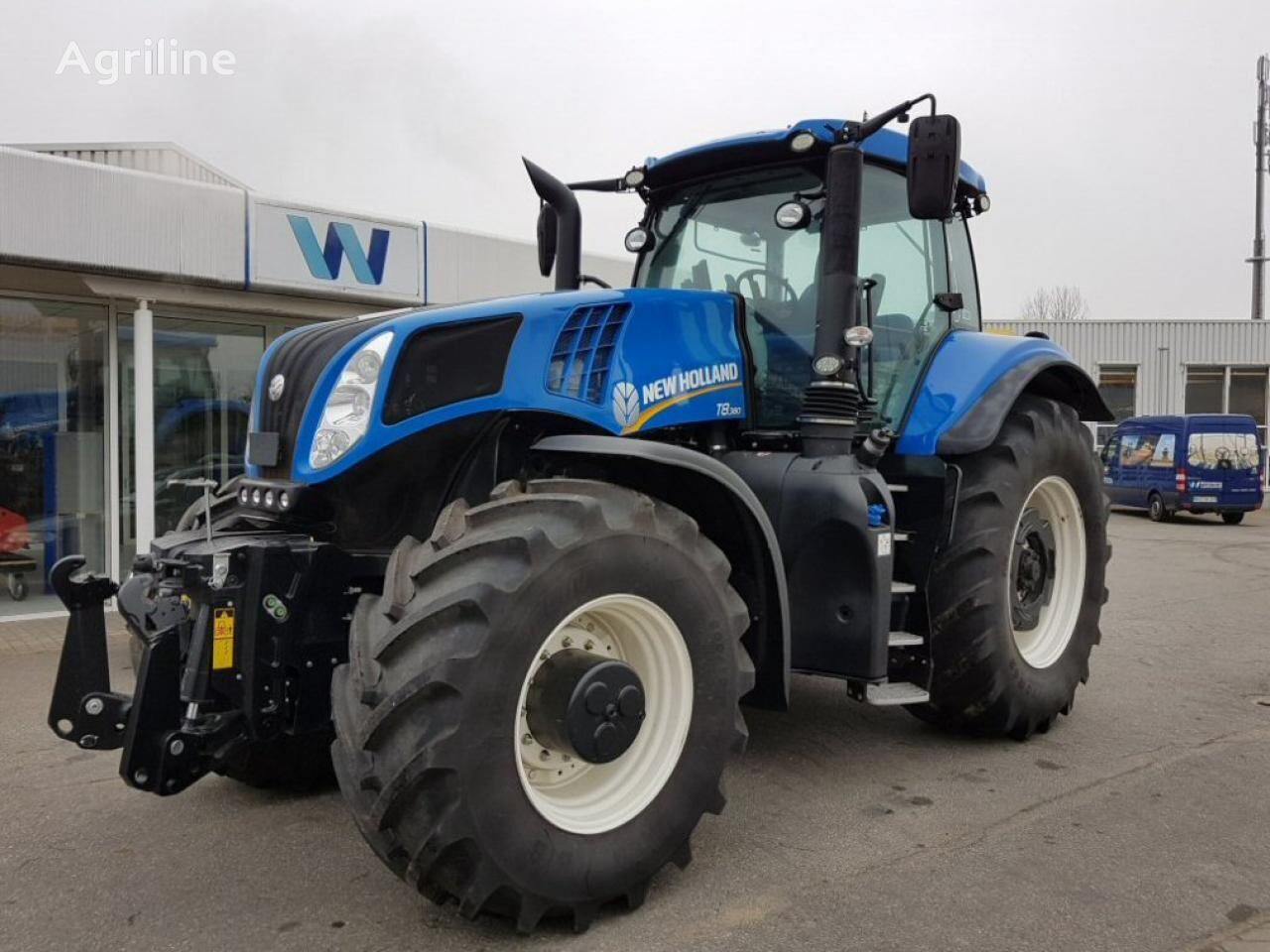 new NEW HOLLAND T 8.380 UC wheel tractor