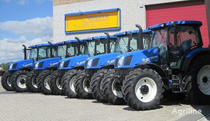 new NEW HOLLAND T6.140 AEC, air, front suspensoin! wheel tractor
