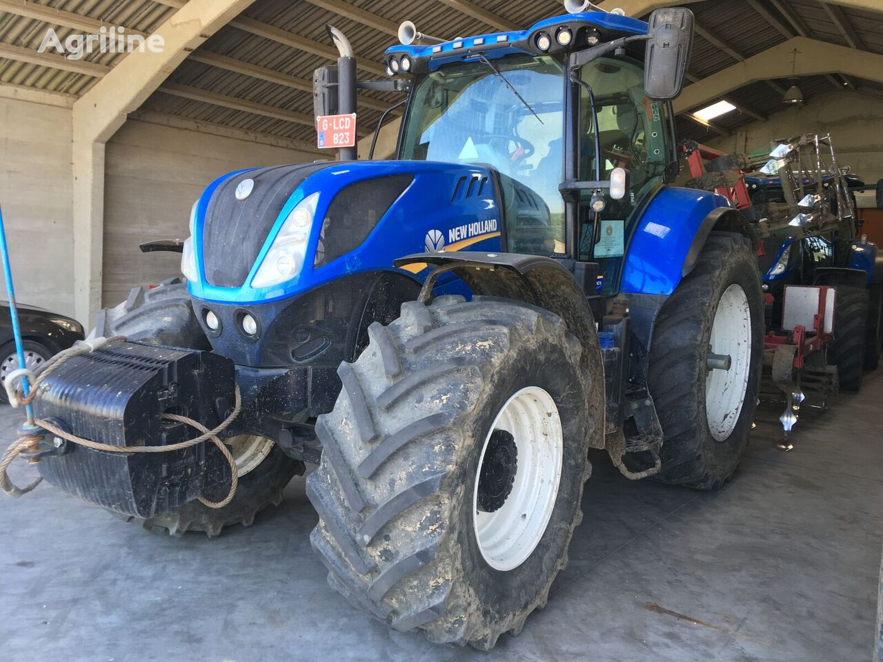 NEW HOLLAND T7.230 CLASSIC wheel tractor