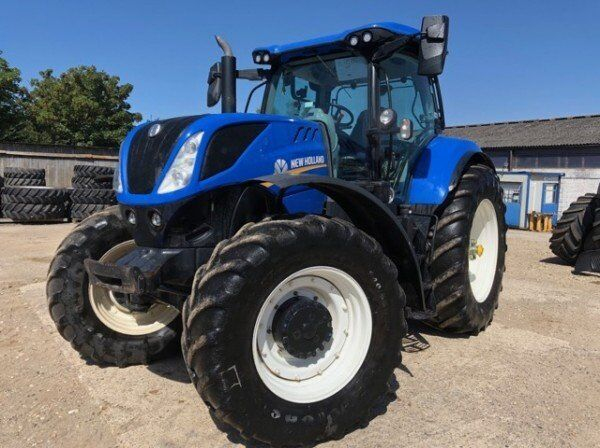 NEW HOLLAND T7.245 Power Command wheel tractor