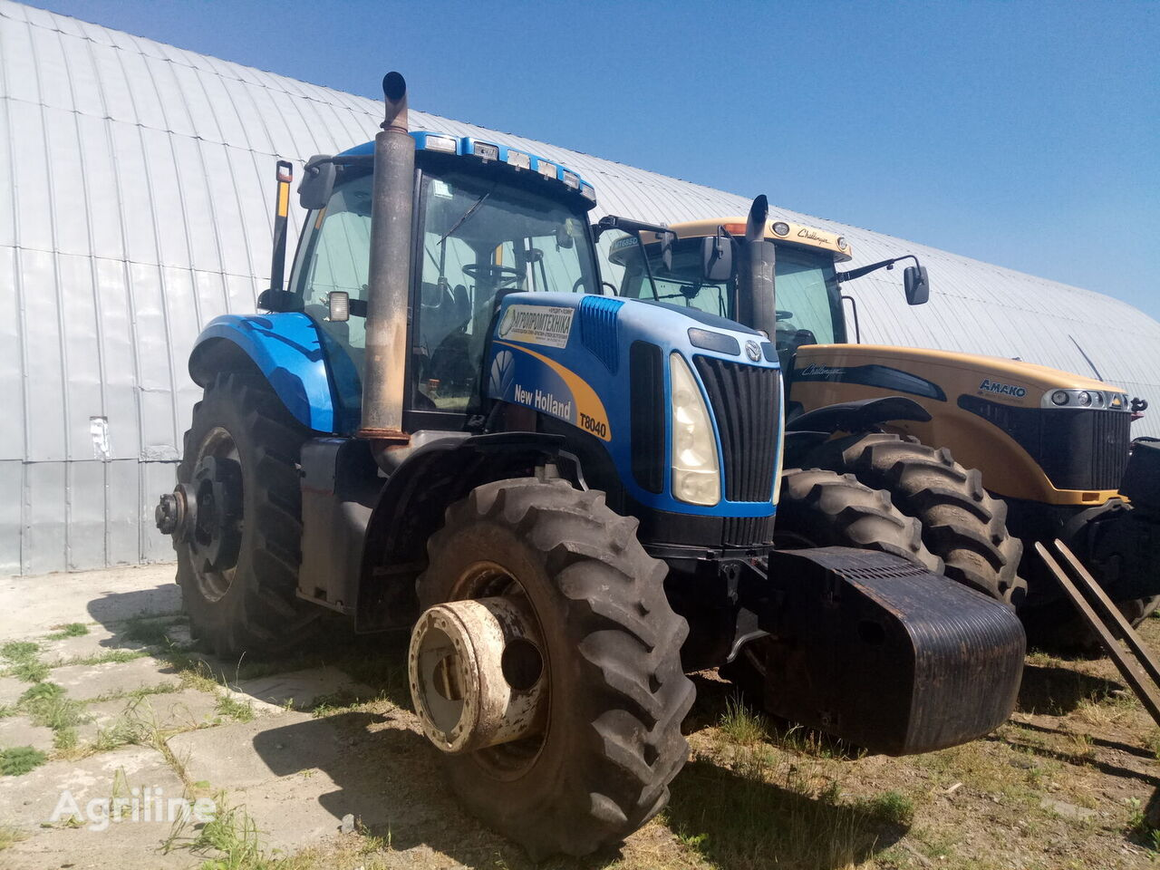 NEW HOLLAND T8.040 wheel tractor