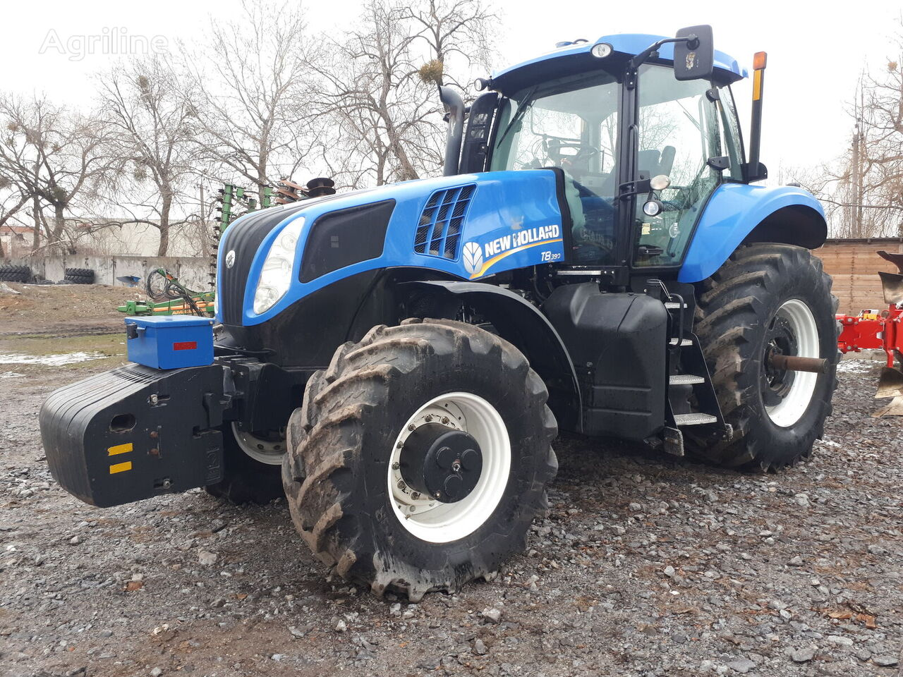 NEW HOLLAND  T8.390  2013 wheel tractor