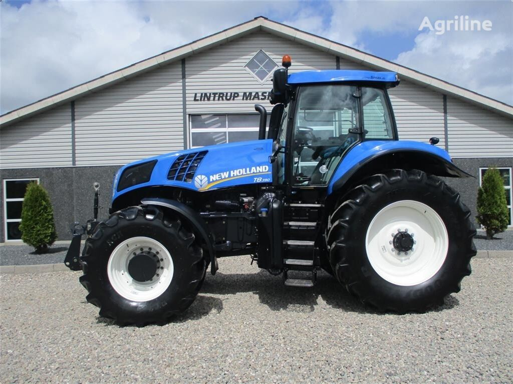 NEW HOLLAND T8.390 TerreGlide & 6ton frontlift wheel tractor