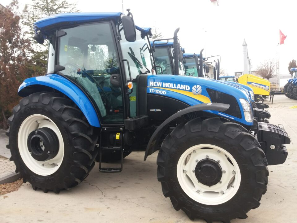 NEW HOLLAND TD 100D wheel tractor