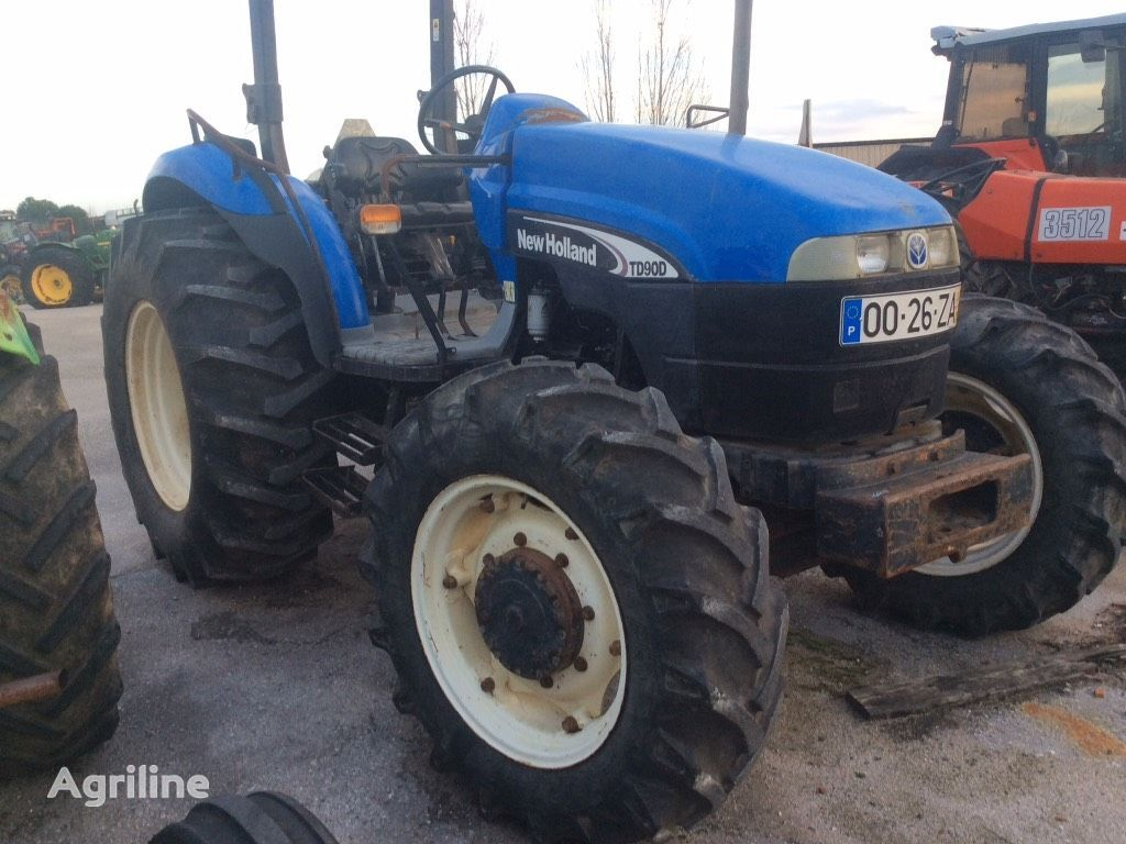NEW HOLLAND TD 90 D wheel tractor