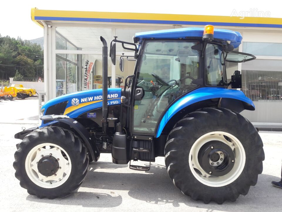 NEW HOLLAND TD75D wheel tractor