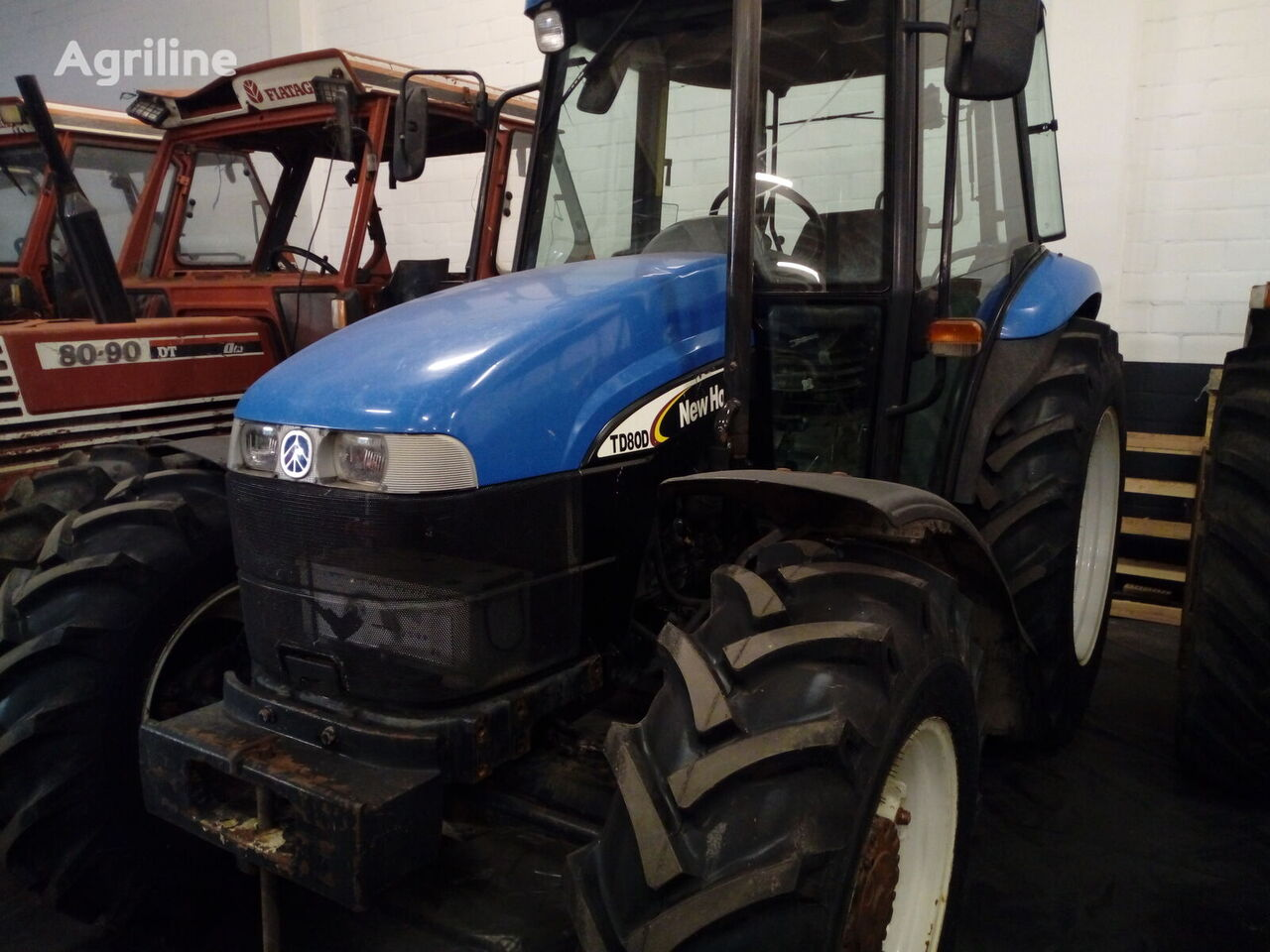 NEW HOLLAND TD80D wheel tractor
