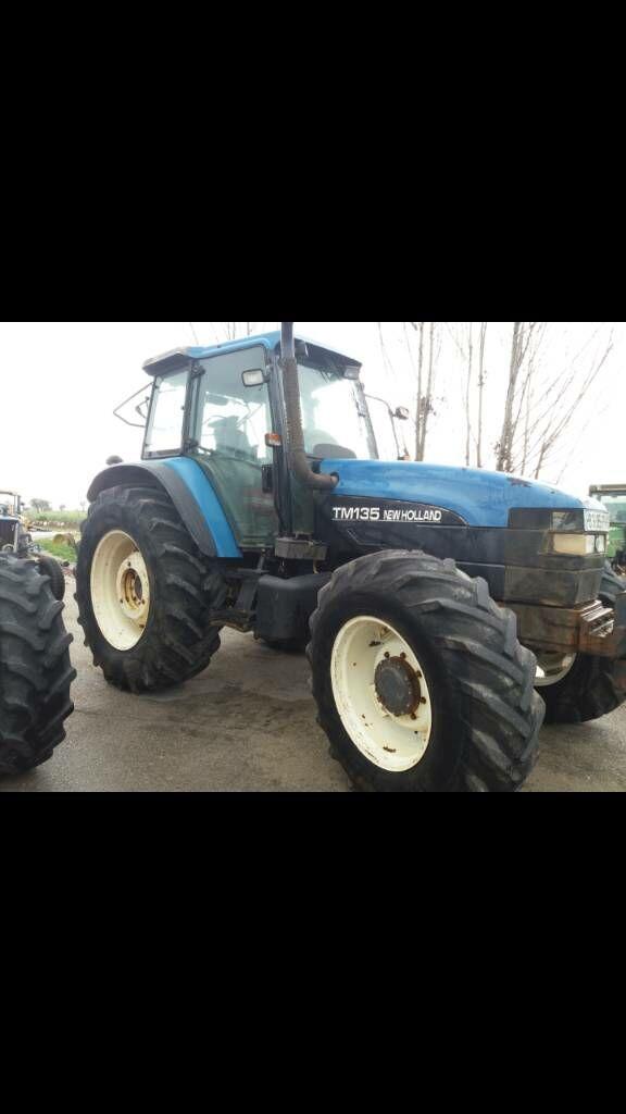 NEW HOLLAND TM 135 wheel tractor