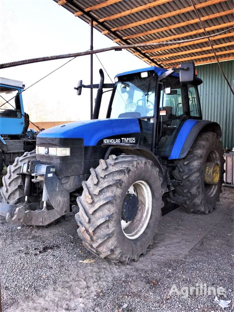 NEW HOLLAND TM 165 wheel tractor
