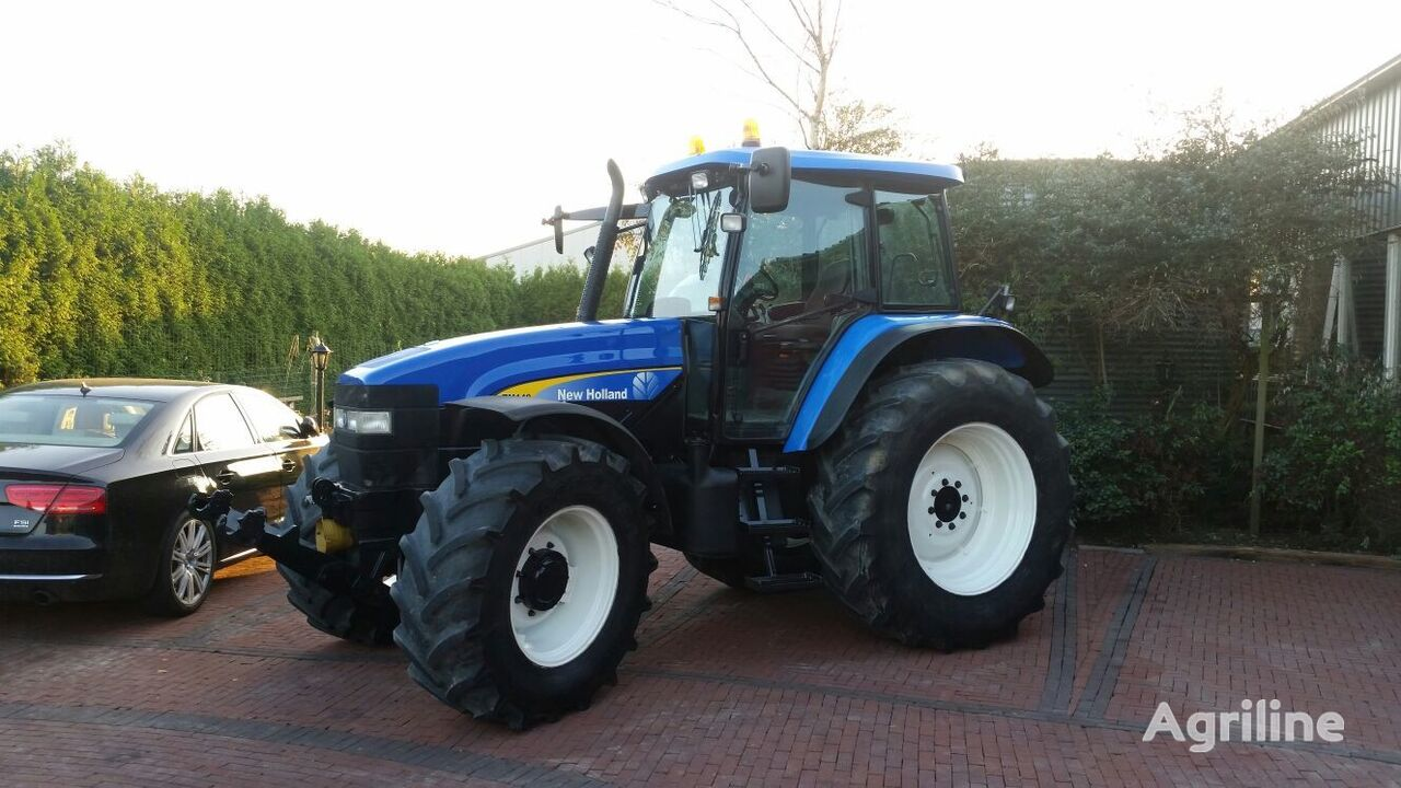 NEW HOLLAND TM140 wheel tractor