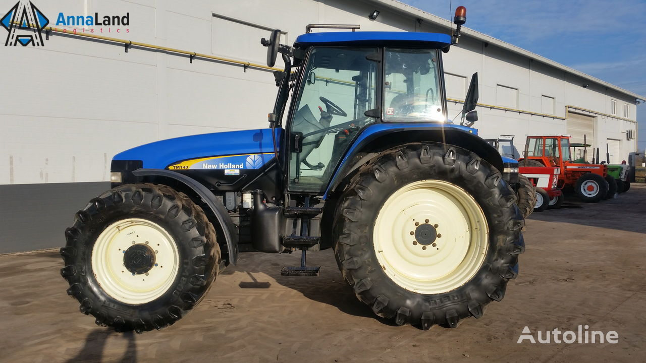 NEW HOLLAND TM140 wheel tractor
