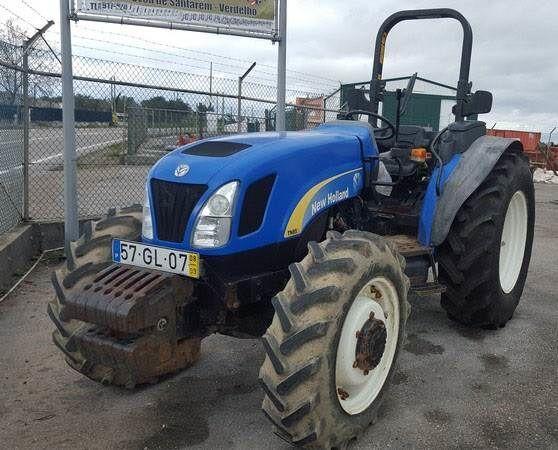 NEW HOLLAND TNA85 wheel tractor