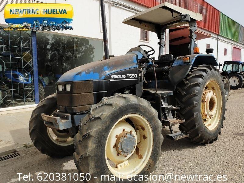 NEW HOLLAND TS 90 wheel tractor