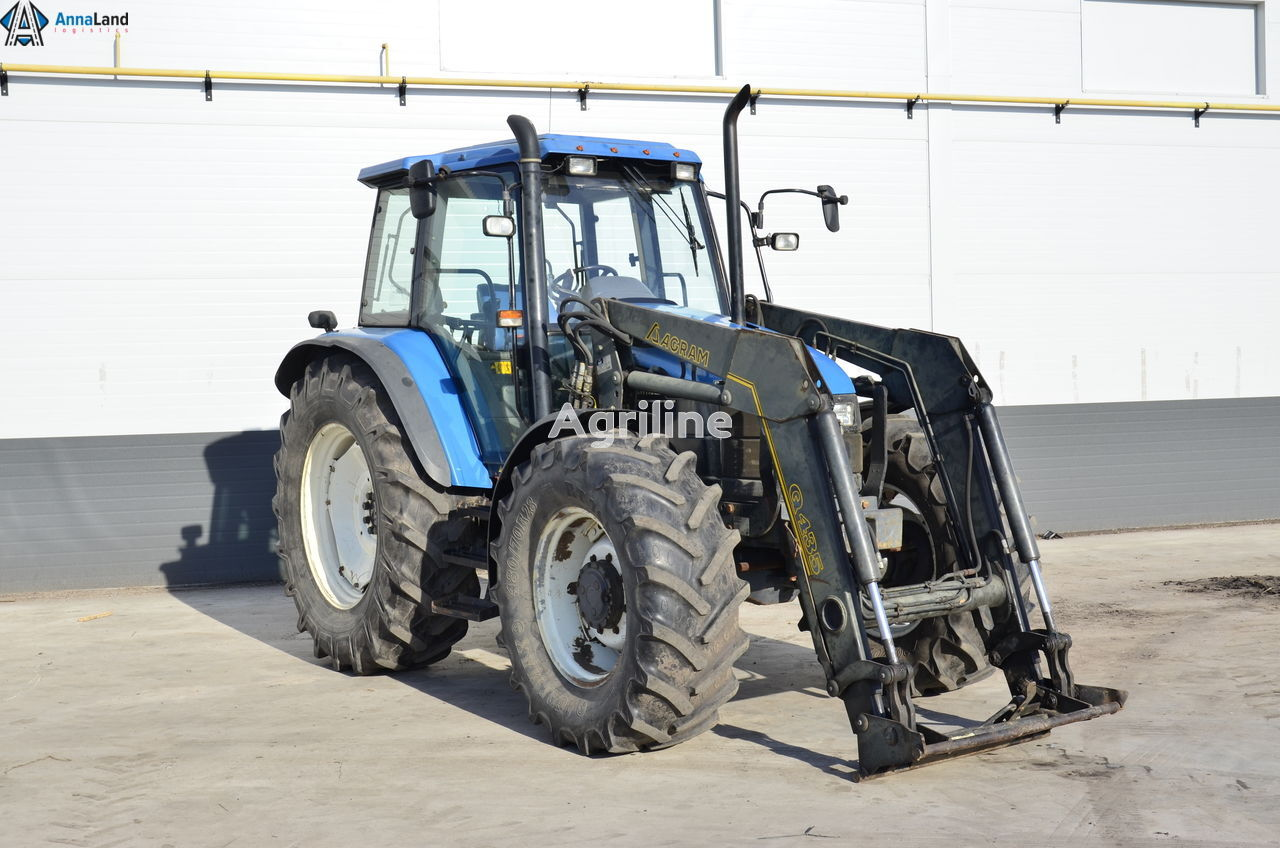 NEW HOLLAND TS100 wheel tractor