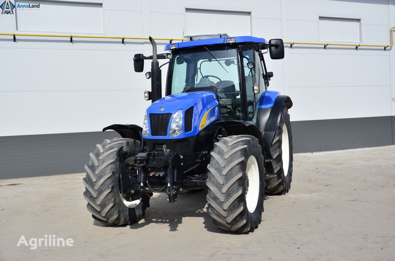 NEW HOLLAND TS115a wheel tractor