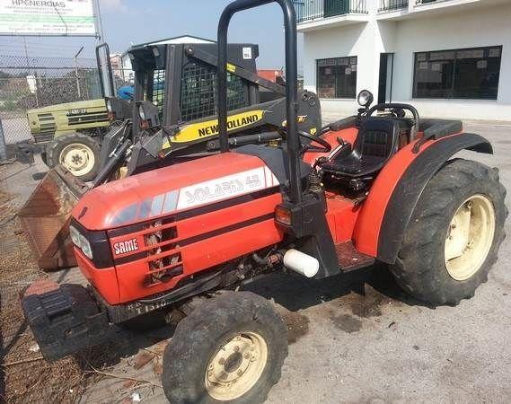 SAME Solaris 45 para peças wheel tractor for parts