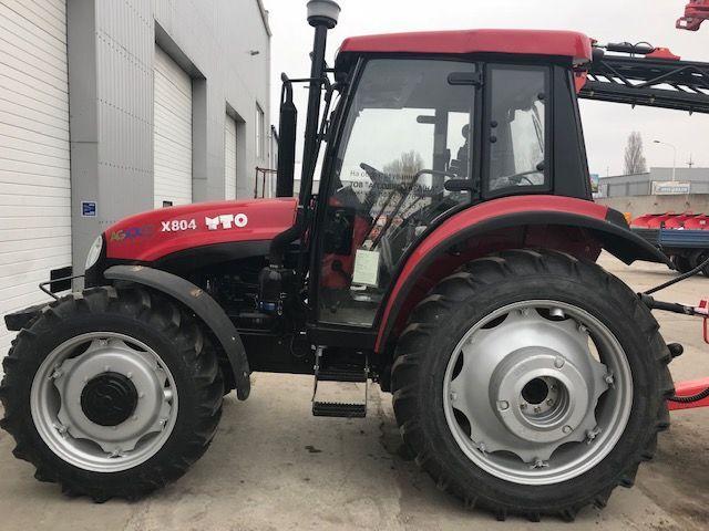 new YTO X804 wheel tractor