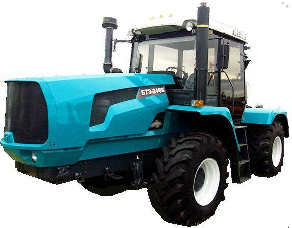 new BTZ-246K wheel tractor