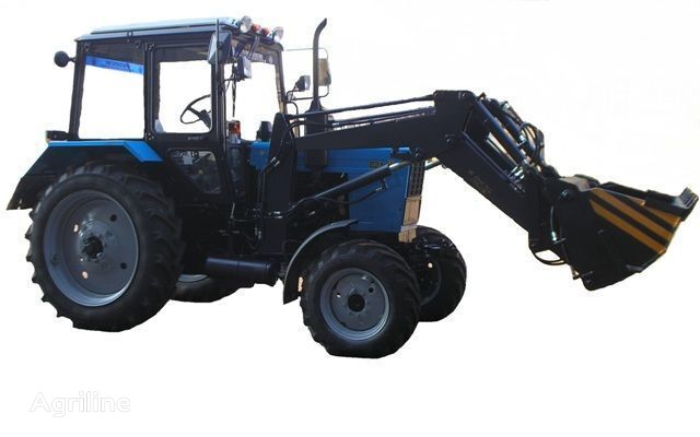 Frontalnyy chelyustnoy BAM-2021 na traktore MTZ wheel tractor