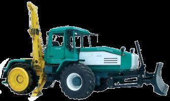 SMR-3 Specializirovannaya mashina dlya remontno-stroitelnyh rabot  wheel tractor