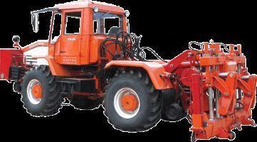 Universalnaya putevaya mashina UPM-1M na baze traktora HTA-200  wheel tractor
