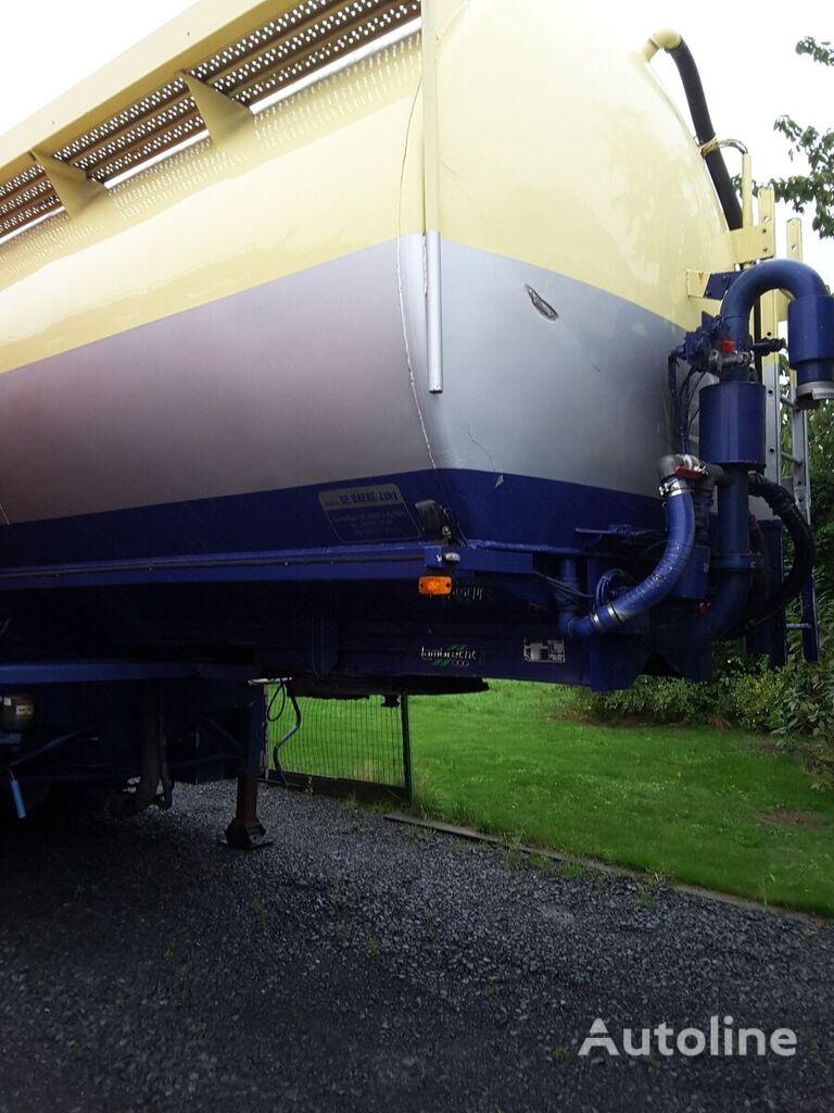 LAMBRECHT MEELOPLEGGER flour tank trailer