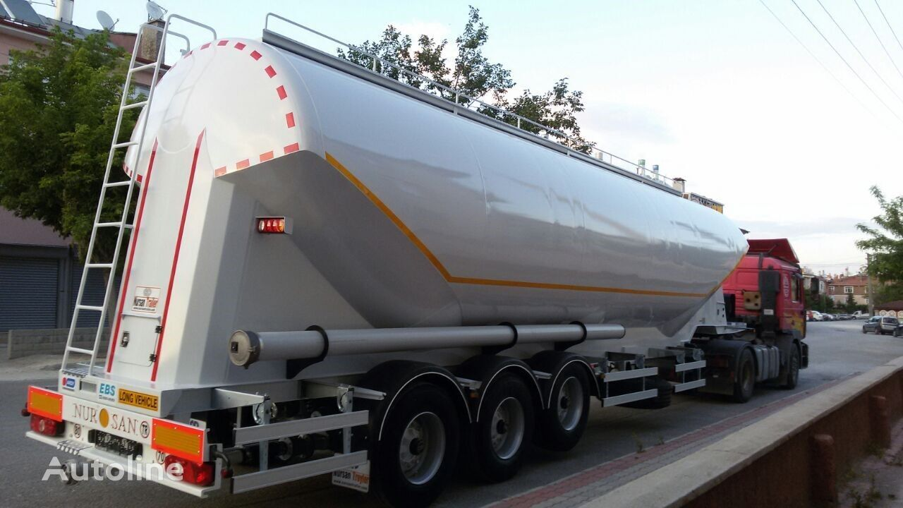 new NURSAN flour tank trailer