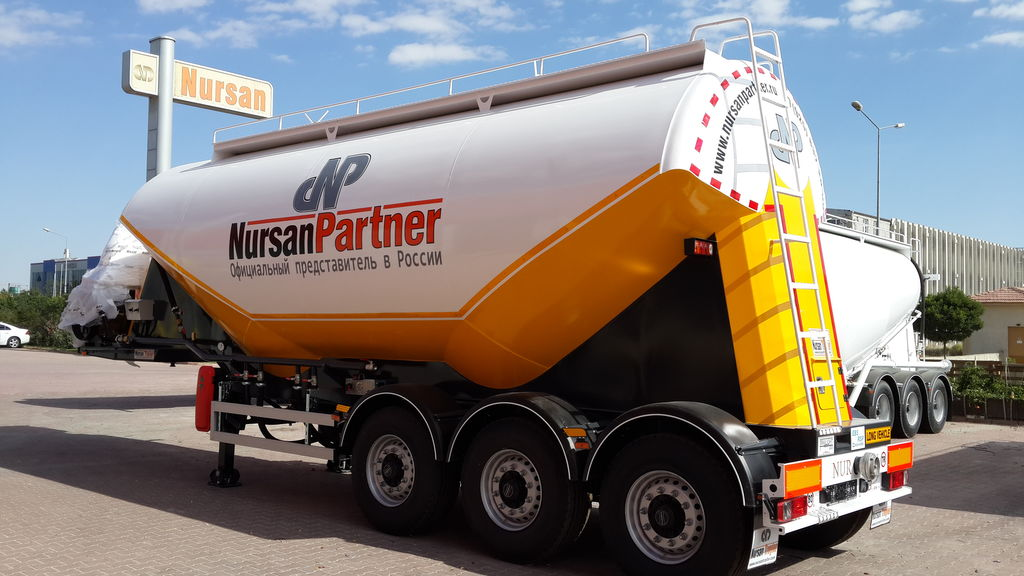 new NURSAN TIPA MILENIUM flour transport tank