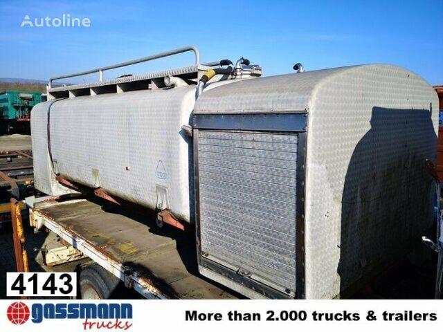 Alu Tankaufbau, ex Milchtank food tank trailer