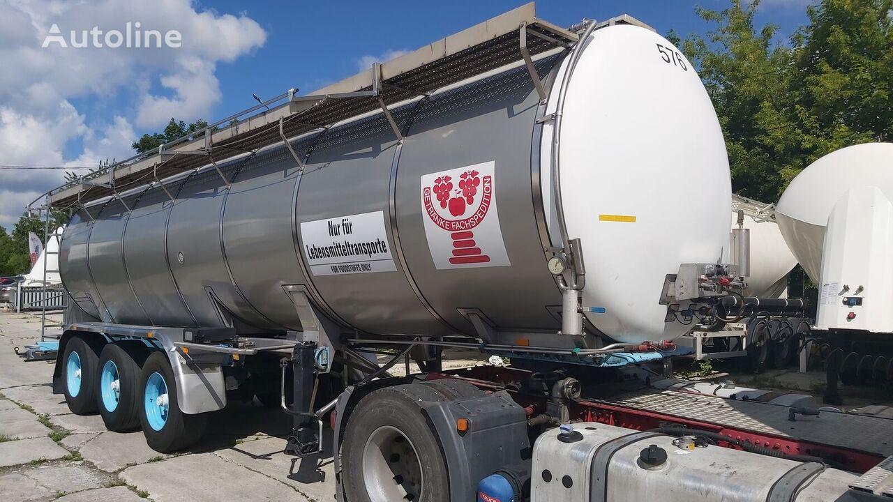 BURG BPO 12 27Z food tank trailer