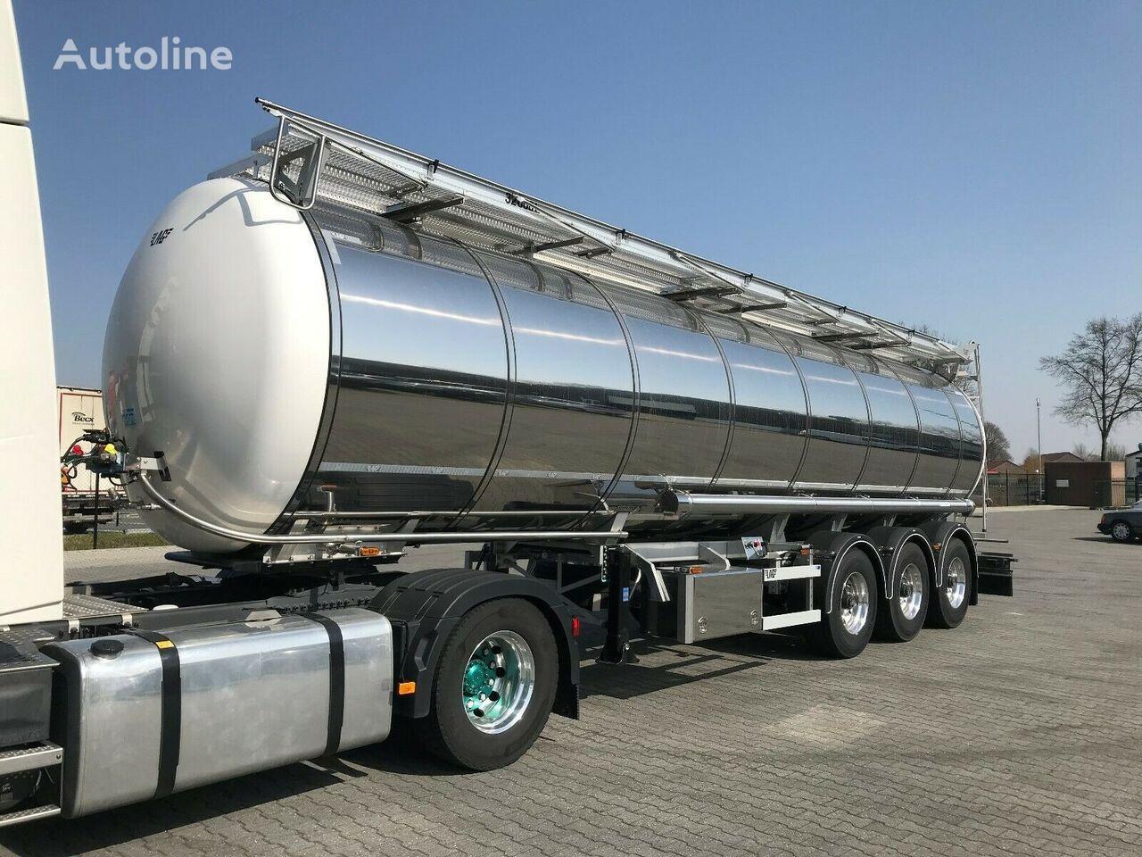 LAG DRUCKTANK-1 KAMMER- 32.000 liter food tank trailer