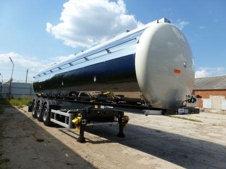 new MENCI SANTI-MENCI 36 000 litrov / 4 kamery food tank trailer