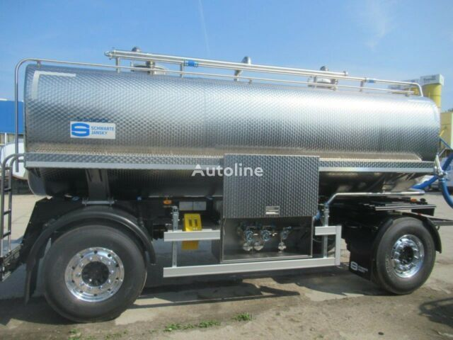 new Schwarte food tank trailer