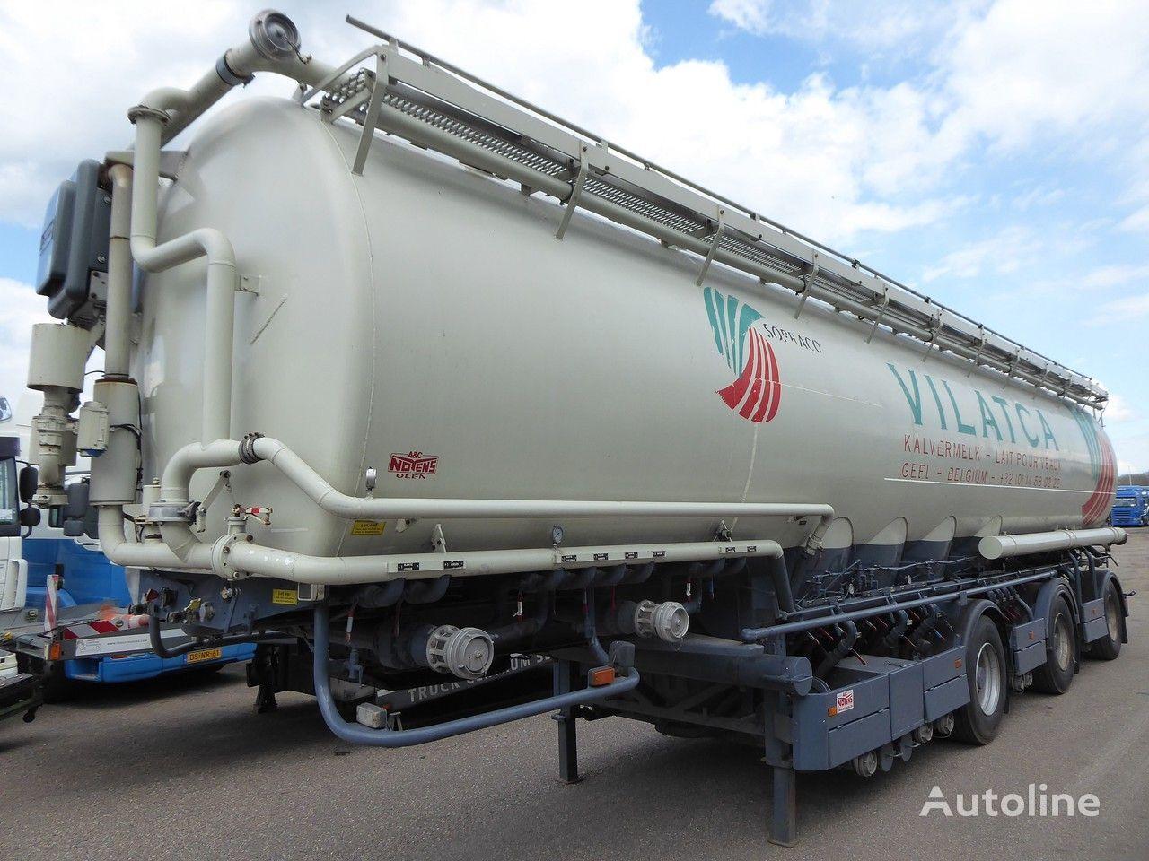 WELGRO 91 WLS 40 -27 Volume 58 m3, 8 comp, Cereals/ Getreide, Futter, M food tank trailer