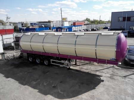 FELDBINDER (ID-4095) polupricep cisterna pishchevaya food tank