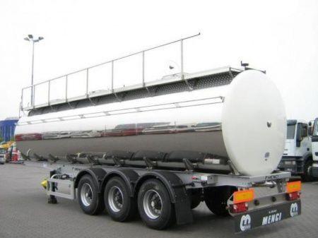 new SANTI SANTI-MENCI pishchevaya cisterna BPW ECO-AIR SANTI-MENCI food tank