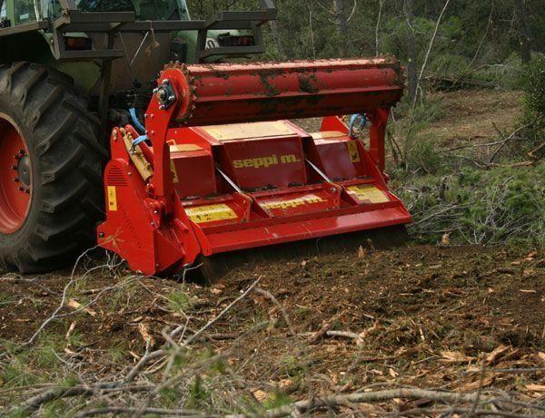 new SEPPI M  Multiforst forestry mulcher