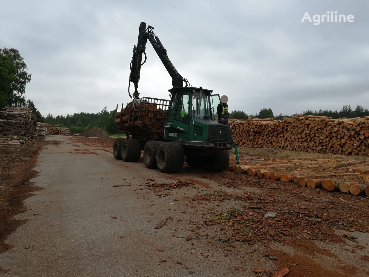 TIMBERJACK 810D forwarder