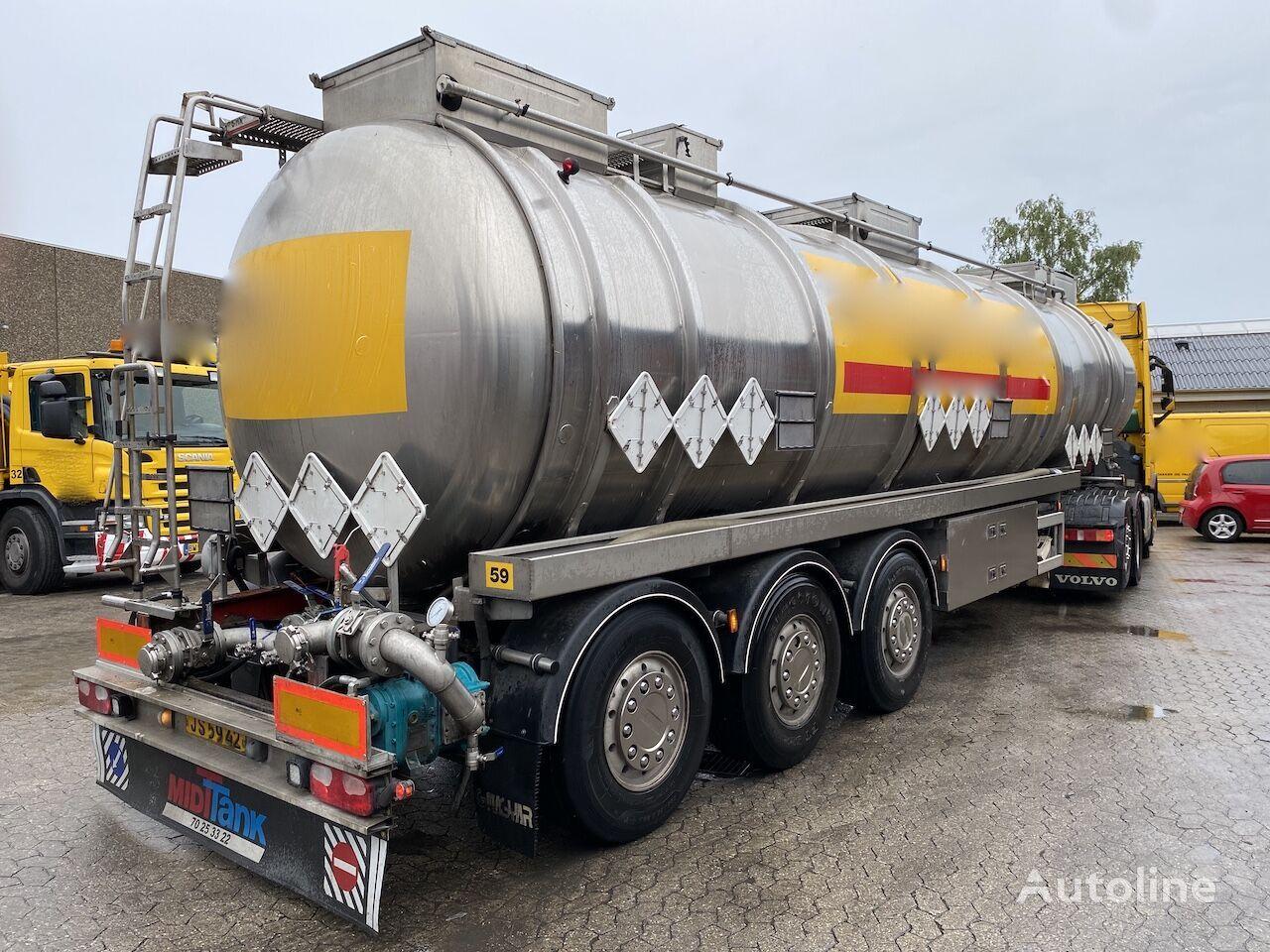 MAGYAR 41 m3, ADR, FL, AT fuel tank trailer