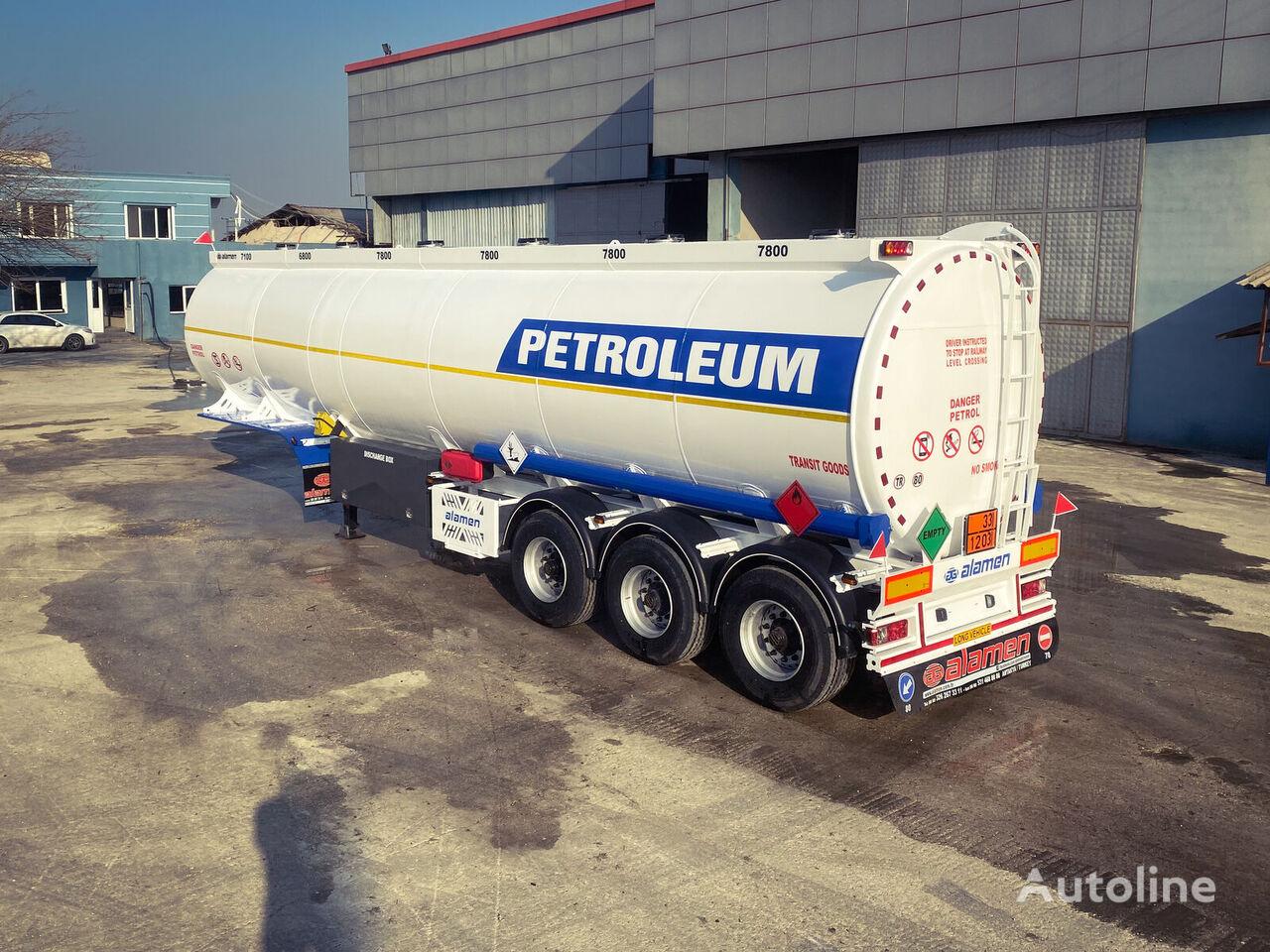 new ALAMEN FuelTanker (Diesel-gasoline) for Sale  fuel tank trailer