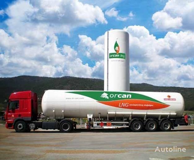new CRYOCAN LNG , LPG, LİN, LOX, LAR  fuel tank trailer