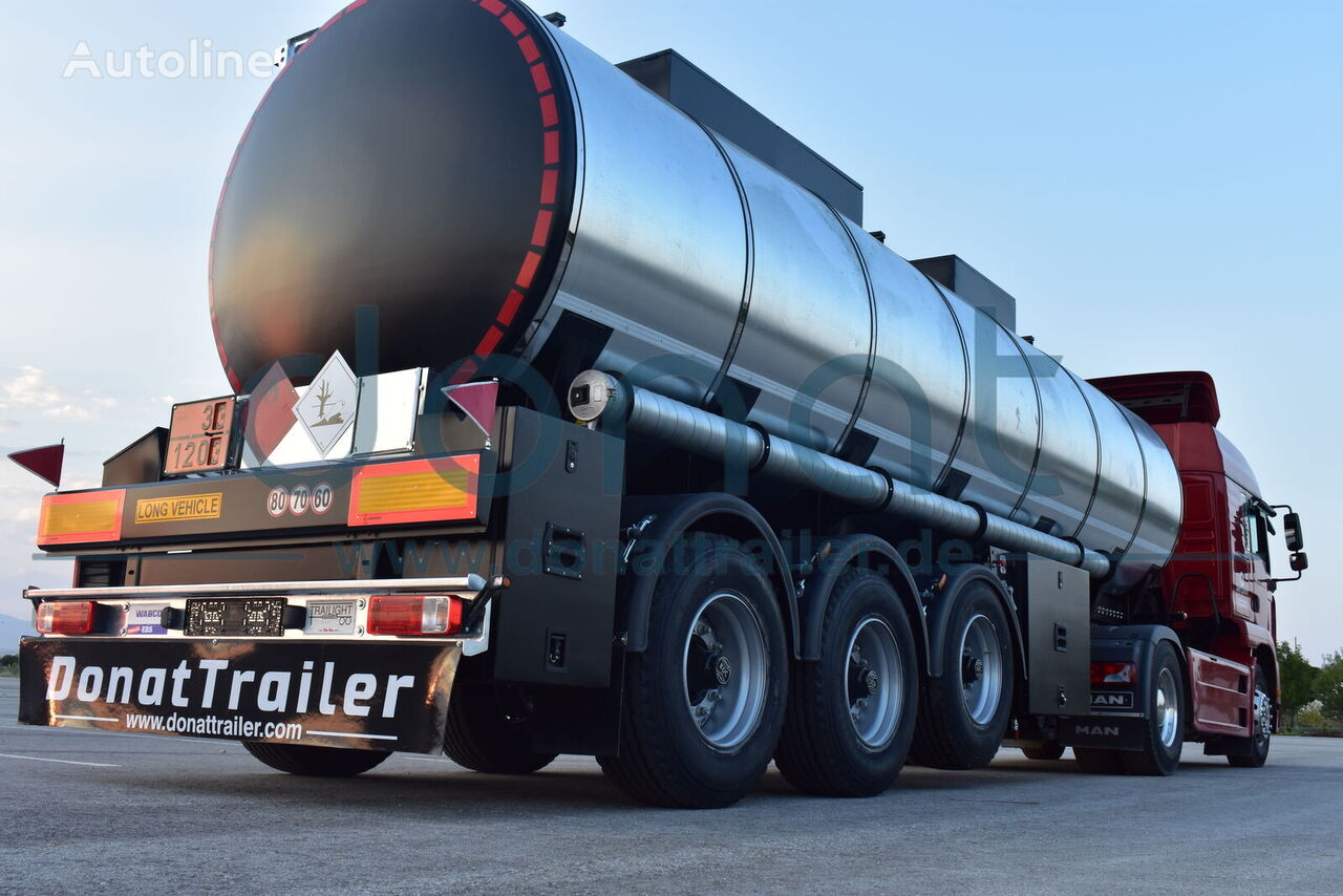 new DONAT Termos - Insulated fuel tank trailer