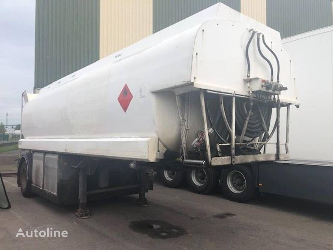 EKW Tankoplegger fuel tank trailer