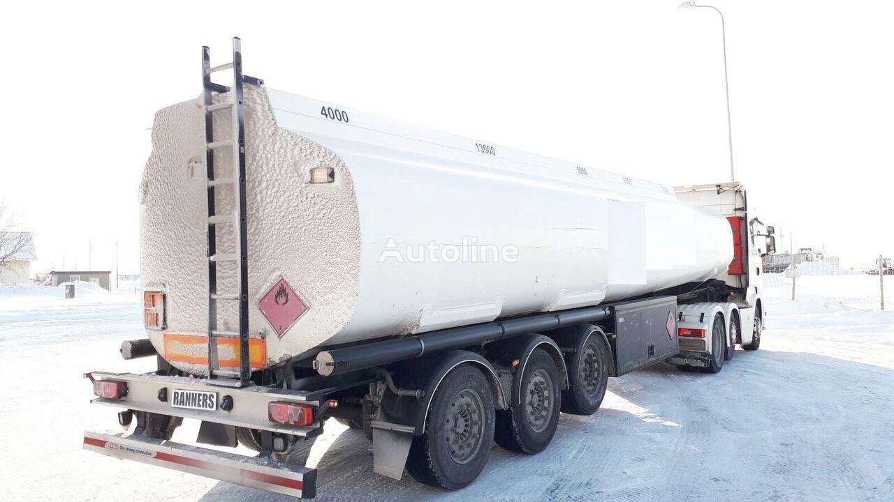 EUROTANK 38-5 fuel tank trailer