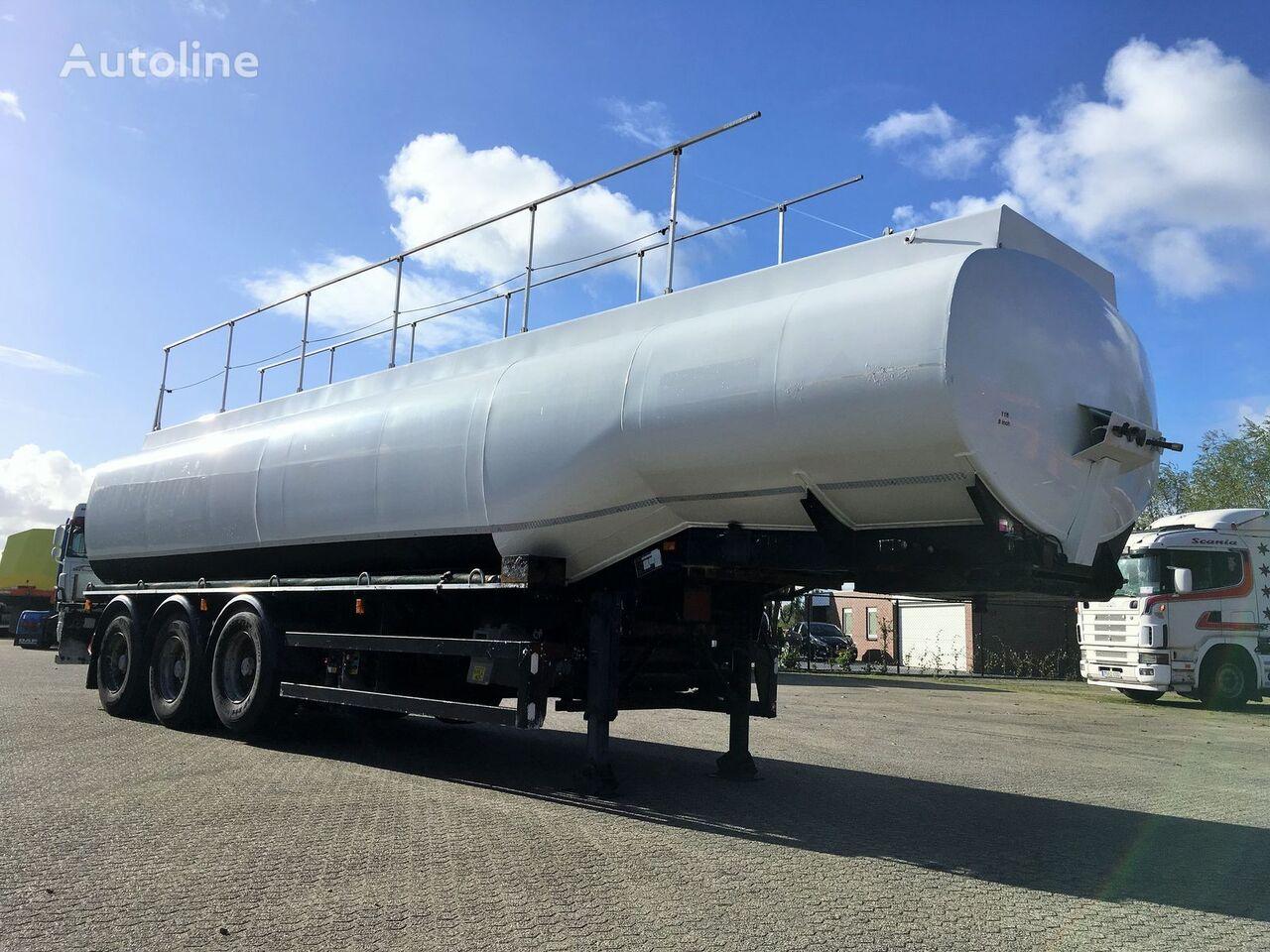 FRUEHAUF ADR 36.000ltr LGBF Diesel-Benzine fuel tank trailer